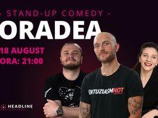 Oradea: Stand-up comedy cu Bordea, Nelu Cortea & Teodora Nedelcu