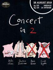 Ada Milea și Bobo Burlăcianu – Concert în 2 @Quantic