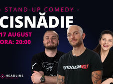 Cisnădie: Stand-up comedy cu Bordea, Nelu Cortea & Teodora Nedelcu