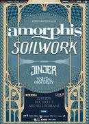 Concert Amorphis, Soilwork si Jinjer