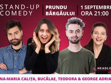 Prundu Bârgăului: Stand-up comedy cu Ana-Maria Calița, Bucălae, Teodora & George Adrian