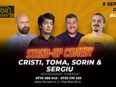 Stand-up comedy cu Cristi, Toma, Sergiu si Sorin