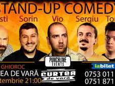 Stand Up Comedy la Curtea de Vara Ghioroc