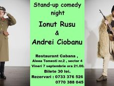 Stand Up Comedy cu Ionuț Rusu & Andrei Ciobanu