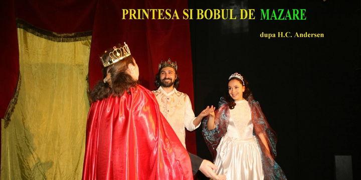 """Teatrul Coquette: """"Printesa si bobul de mazare"""""""