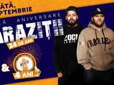 CONCERT PARAZIȚII - 24 ANI @ BERĂRIA H - 4 ANI #DUBLĂANIVERSARE