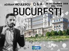 Adrian Niculescu, Q&A - București