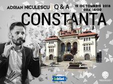 Adrian Niculescu, Q&A - Constanța