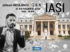 Adrian Niculescu, Q&A - Iași