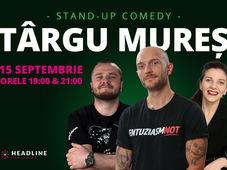Târgu Mureș: Stand-up comedy cu Bordea, Nelu Cortea & Teodora Nedelcu