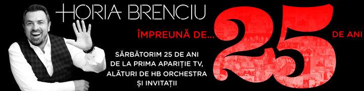 HORIA BRENCIU 25 ANI TURNEU - Arad