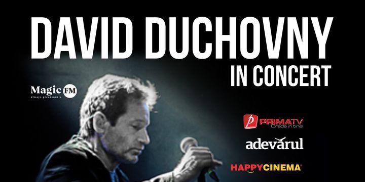 DAVID DUCHOVNY - IN CONCERT