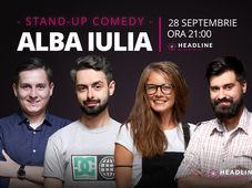 Alba Iulia: Stand-up comedy cu Bucălae, Tănase, George Adrian & Doina Teodoru