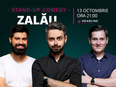 Zalău: Stand-up comedy cu Radu Bucălae, George Tănase & George Adrian