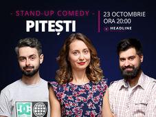 Pitești: Stand-up comedy cu Ana-Maria Calița, George Tănase & George Adrian