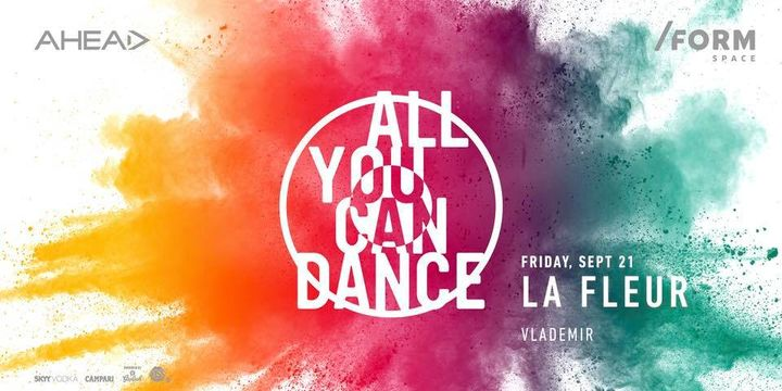 All You Can Dance with La Fleur at/ FORM  SPACE