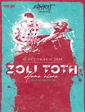 Zoli Toth - Home Alone (one man show) / Expirat / 18.10