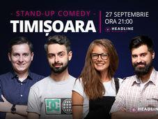 Timișoara: Stand-up comedy cu Bucălae, Tănase, George Adrian & Doina Teodoru