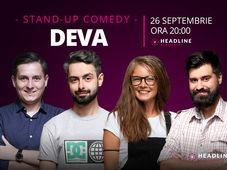 Deva: Stand-up comedy cu Bucălae, Tănase, George Adrian & Doina Teodoru