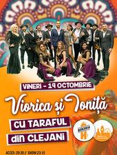 Viorica și Ioniță cu Taraful din Clejani în concert la Berăria H