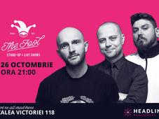 București: Stand-up comedy cu Bordea, Badea & Micutzu 1