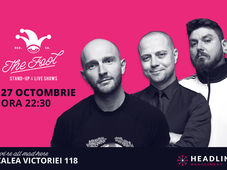 București: Stand-up comedy cu Bordea, Badea & Micutzu 3