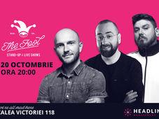 București: Stand-up comedy cu Bordea, Vio & Micutzu 2