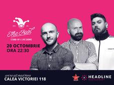 București: Stand-up comedy cu Bordea, Cristi Popesco & Micutzu 3