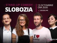Slobozia: Stand-up comedy cu Radu Isac, Doina Teodoru, Mane & Luiza