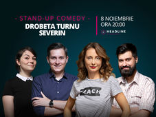 Severin: Stand-up comedy cu Ana-Maria Calița, George Tănase, Geo & Luiza