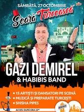 Seara Turceasca Gazi DeMirel & Habibis Band