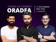 Oradea: Stand-up comedy cu Bucălae, Tănase & Geo