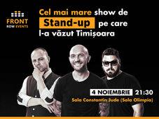Timișoara: Stand-up comedy cu Bordea, Micutzu & Badea