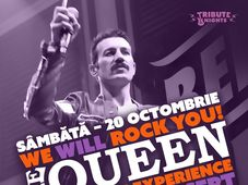 """We Will Rock You!"" - The QUEEN Live Experience by Merqury Legacy [IT]"