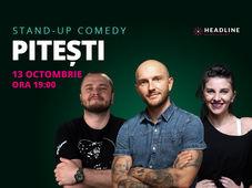 Pitești: Stand-up comedy cu Bordea, Nelu Cortea & Teodora Nedelcu