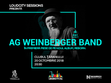 Loudcity Sessions cu AG Weinberger Band.