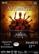 Antimatter & Abigail live in Quantic