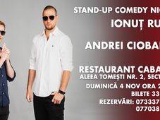 Stand Up Comedy Night cu Rusu & Andrei