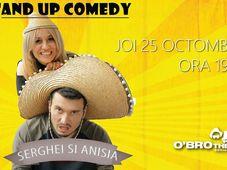 Stand up comedy Anisia și Serghei @Buzău