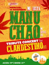 Me gusta MANU CHAO - Tribute Show by Clandestino [Italia]