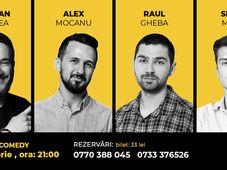 Stand Up Comedy cu Raul Gheba & Alex Mocanu & Bogdan Dracea & Sergiu Mirica