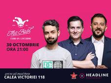 București: Stand-up comedy cu Bucălae, Gherghe & Tănase