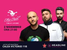 București: Stand-up comedy cu Bordea, Micutzu & Bucălae