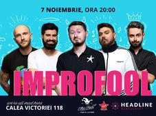 București: ImproFool - Bordea, Micutzu, Bucălae, Geo & Claudiu Popa