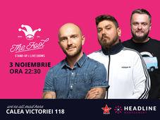 București: Stand-up comedy cu Bordea, Micutzu & Nelu Cortea