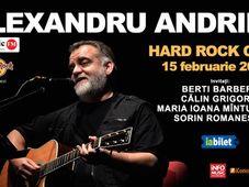 Alexandru Andries -  în premieră la Hard Rock Cafe