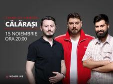 Călărași: Stand-up comedy cu Micutzu, Claudiu Popa & Geo