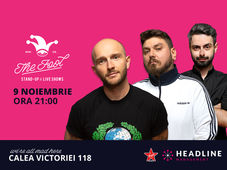 București: Stand-up comedy cu Bordea, Micutzu & Bucălae 1