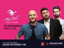 București: Stand-up comedy cu Bordea, Micutzu & Bucălae 3