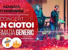 Concert Dan Ciotoi și Formația Generic